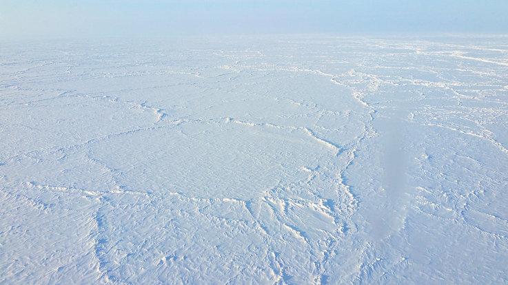 Der Arktische Ozean ist mit einer Fläche von rund 14 Millionen Quadratkilometer der kleinste
