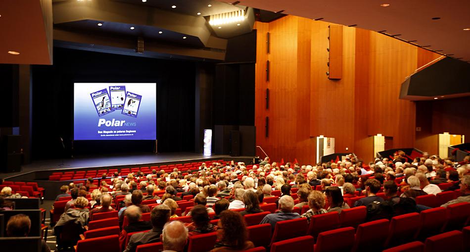 Der Höhepunkt der Tournee war Hannover mit 450 Besuchern.